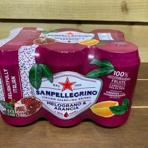 San Pellegrino Orange and Pomegranate - 6 x 330ml