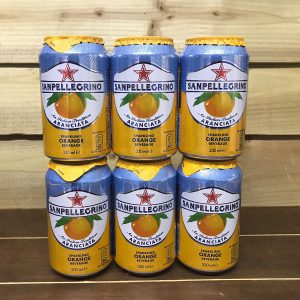 San Pellegrino Sparkling Orange - 6 x 330ml