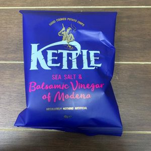 Sea Salt and Balsamic Vinegar Kettle Chips